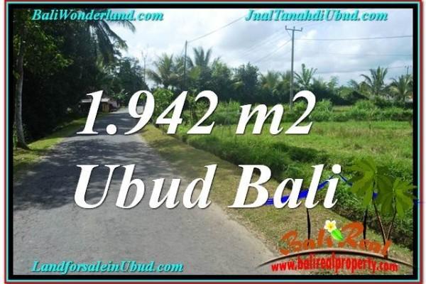 Exotic LAND SALE IN Ubud Pejeng BALI TJUB626