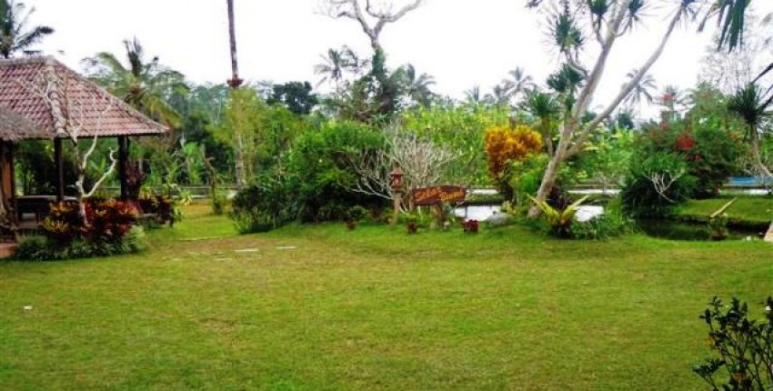 Land for sale in Ubud with rice field view – LUB101