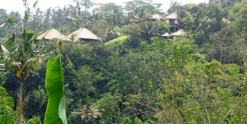 Land for sale in Ubud Payangan with view of river valley  – LUB130