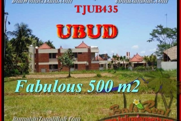 Magnificent PROPERTY LAND FOR SALE IN UBUD TJUB435