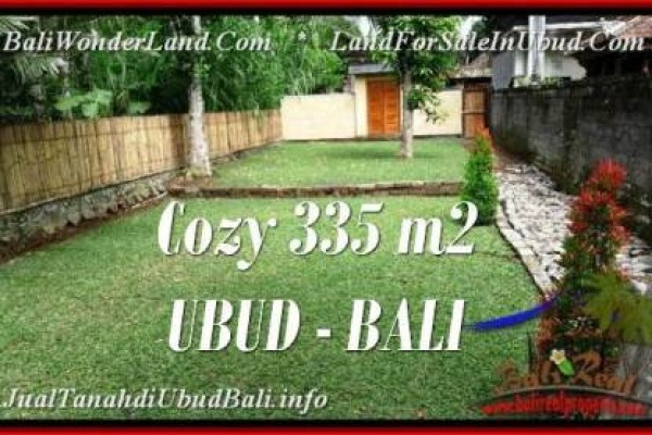 LAND IN UBUD BALI FOR SALE TJUB537