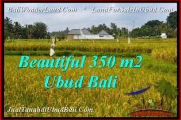 350 m2 LAND IN UBUD BALI FOR SALE TJUB540