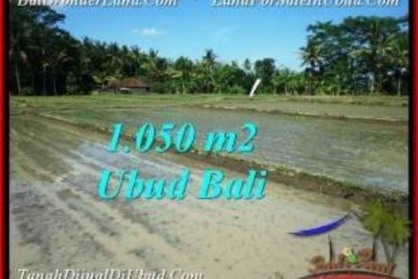 1,050 m2 LAND FOR SALE IN UBUD BALI TJUB544