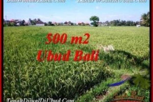 Affordable PROPERTY 500 m2 LAND FOR SALE IN Sentral Ubud TJUB545