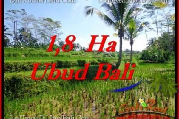 Magnificent UBUD BALI 16,000 m2 LAND FOR SALE TJUB553