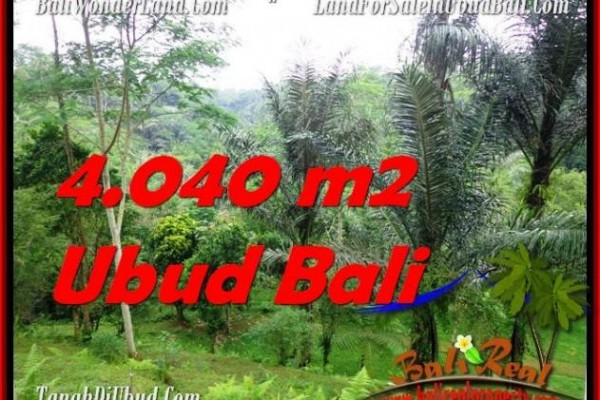 Beautiful LAND FOR SALE IN UBUD TJUB555