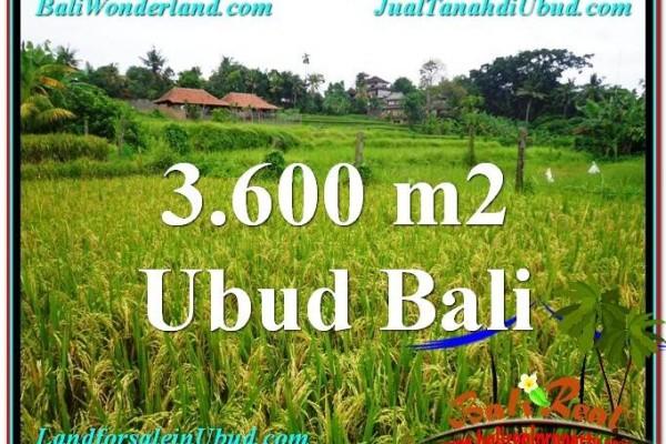 Magnificent PROPERTY 3,600 m2 LAND FOR SALE IN Sentral Ubud TJUB566