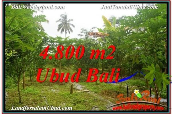 4,800 m2 LAND IN UBUD BALI FOR SALE TJUB571