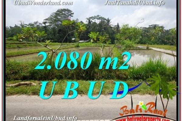 Affordable 2,080 m2 LAND SALE IN UBUD TJUB582