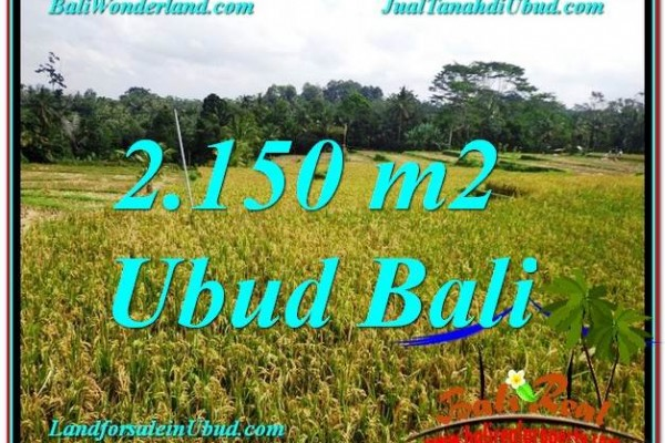 Exotic Ubud Tegalalang LAND FOR SALE TJUB606