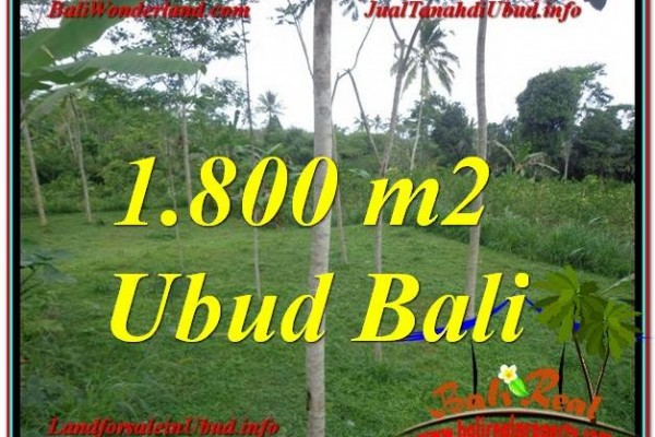 Magnificent 1,800 m2 LAND SALE IN UBUD TJUB610