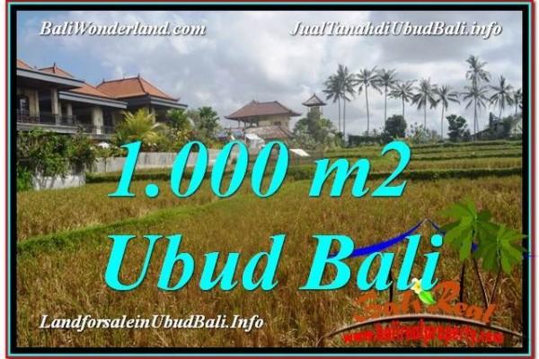 Beautiful PROPERTY LAND FOR SALE IN UBUD TJUB618