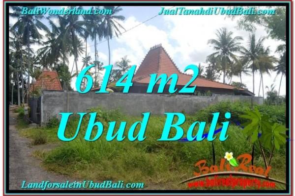 Magnificent 614 m2 LAND IN UBUD BALI FOR SALE TJUB622