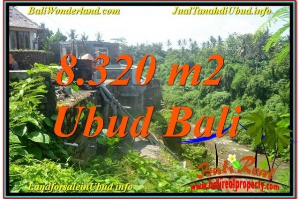 Beautiful PROPERTY Sentral / Ubud Center 8,320 m2 LAND FOR SALE TJUB635