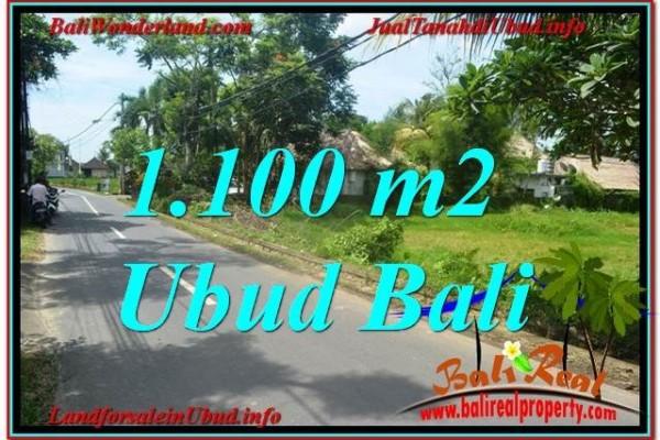 Magnificent PROPERTY 1,100 m2 LAND FOR SALE IN Sentral / Ubud Center BALI TJUB645