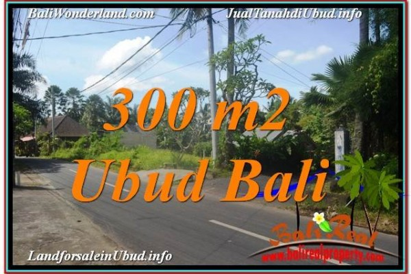 Affordable PROPERTY 300 m2 LAND FOR SALE IN UBUD TJUB646