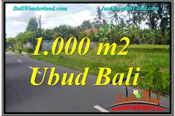 Exotic PROPERTY LAND FOR SALE IN Sentral / Ubud Center BALI TJUB649