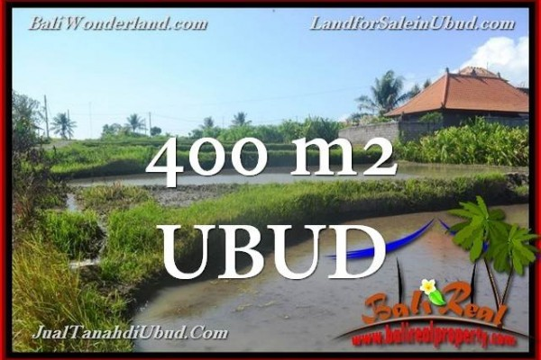 Magnificent PROPERTY Ubud Gianyar 400 m2 LAND FOR SALE TJUB659