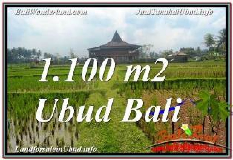 Magnificent PROPERTY LAND IN UBUD BALI FOR SALE TJUB670
