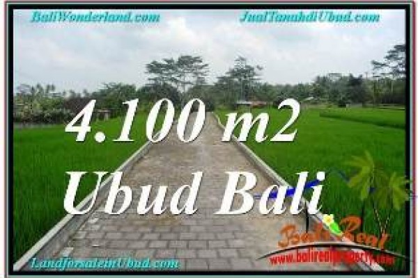 Beautiful 4,100 m2 LAND FOR SALE IN SENTRAL UBUD BALI TJUB676