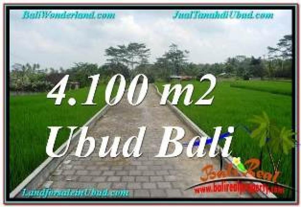 Beautiful 4,100 m2 LAND FOR SALE IN SENTRAL UBUD BALI TJUB676
