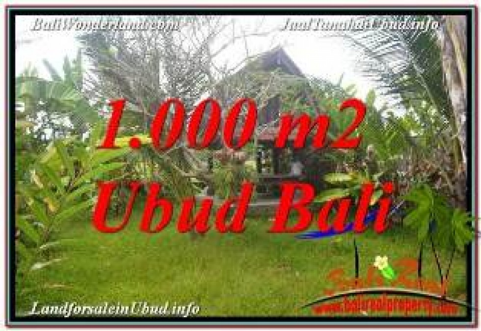 Affordable LAND IN UBUD BALI FOR SALE TJUB680
