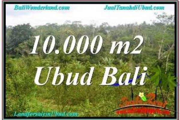 Affordable PROPERTY UBUD BALI 10,500 m2 LAND FOR SALE TJUB681