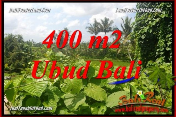 Beautiful 400 m2 Land in Sentral Ubud for sale TJUB684