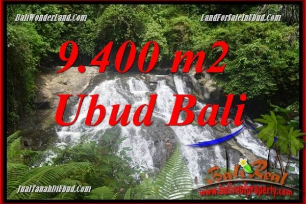 Beautiful Property 9,400 m2 Land in Ubud Gianyar Bali for sale TJUB686