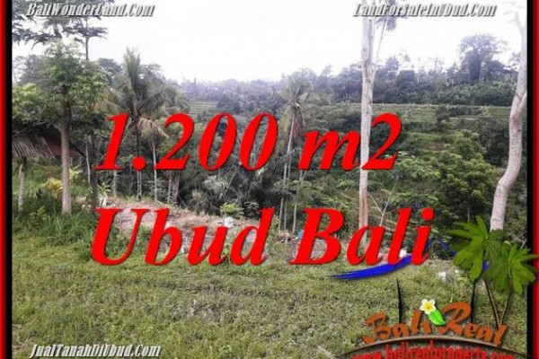 FOR sale Exotic Property 1,200 m2 Land in Ubud Tegalalang TJUB699