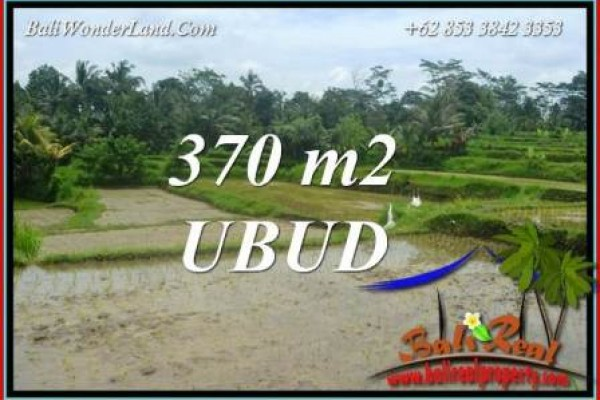 Beautiful Property 370 m2 Land sale in Ubud Pejeng TJUB702