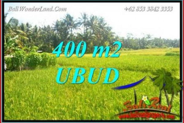 Exotic Property Sentral Ubud 400 m2 Land for sale TJUB711