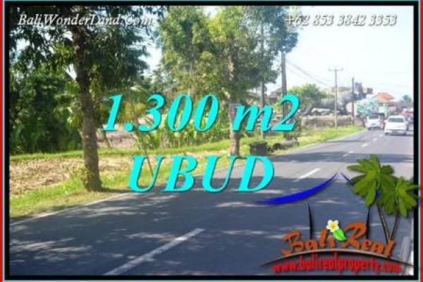 Exotic Property 1,300 m2 Land sale in Ubud Tegalalang TJUB713