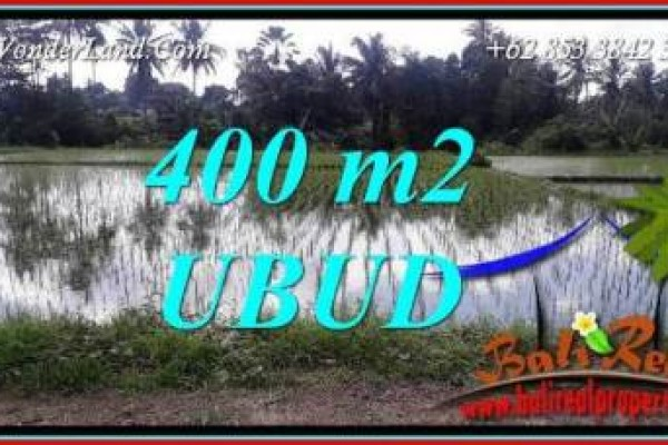 Ubud Bali 400 m2 Land for sale TJUB721