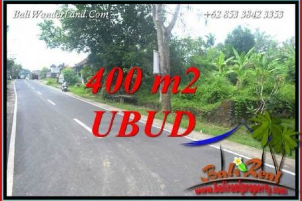 Affordable Property 400 m2 Land sale in Sentral Ubud TJUB725