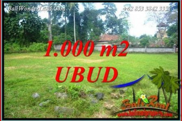 Beautiful Property Land sale in Ubud Bali TJUB728