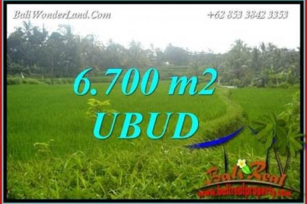 Exotic Property Land sale in Ubud TJUB731