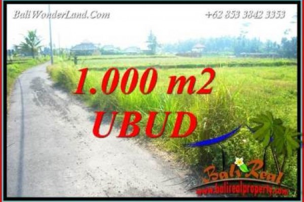 Beautiful Property Land for sale in Ubud Bali TJUB739