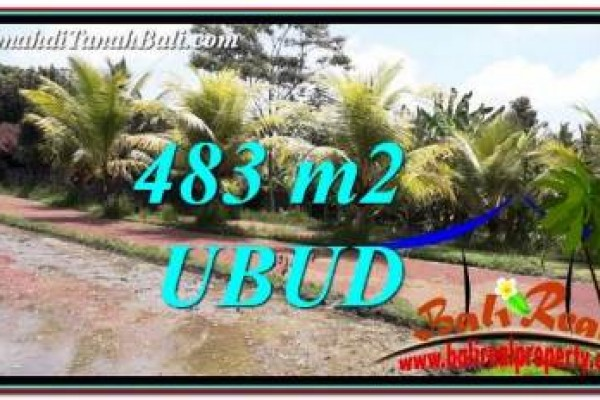 Beautiful PROPERTY Ubud Pejeng 483 m2 LAND FOR SALE TJUB752