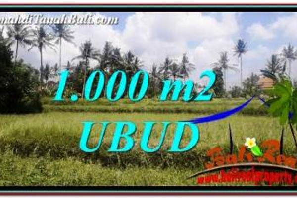 FOR SALE Affordable LAND IN Ubud Pejeng BALI TJUB754