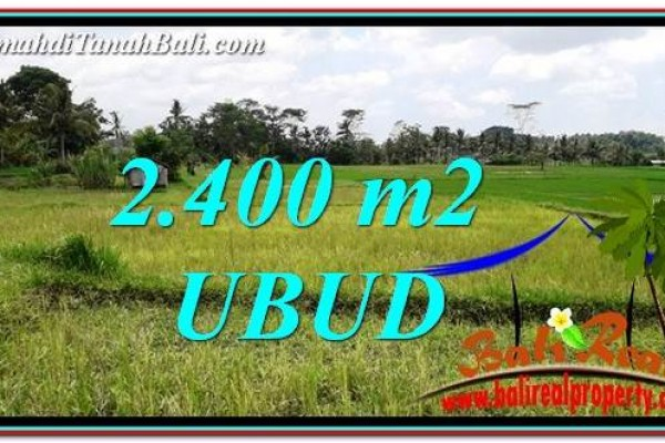 Exotic PROPERTY LAND FOR SALE IN UBUD BALI TJUB757