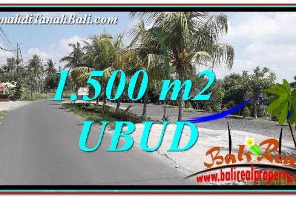 Exotic PROPERTY LAND IN UBUD BALI FOR SALE TJUB758