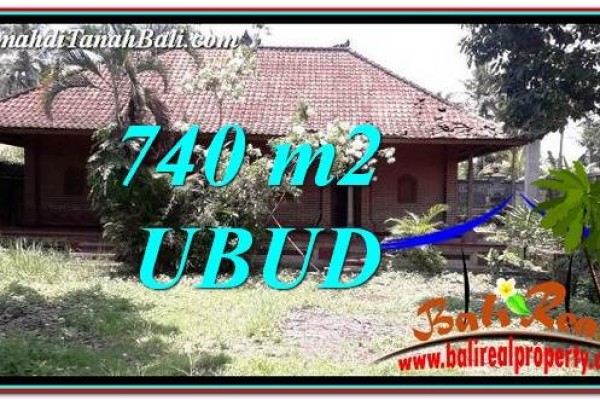Magnificent PROPERTY LAND FOR SALE IN UBUD BALI TJUB764
