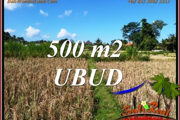 Affordable PROPERTY 500 m2 LAND SALE in Sukawati Gianyar BALI TJUB810