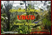 Exotic UBUD BALI LAND FOR SALE TJUB454