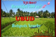 FOR SALE Beautiful 300 m2 LAND IN UBUD TJUB447