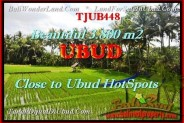 FOR SALE Beautiful 3.800 m2 LAND IN UBUD TJUB448
