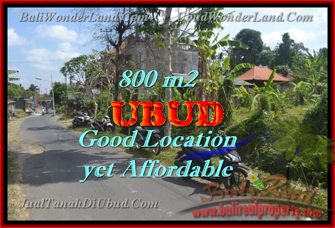 Land in Bali for sale, extraordinary view in Ubud Center – TJUB426