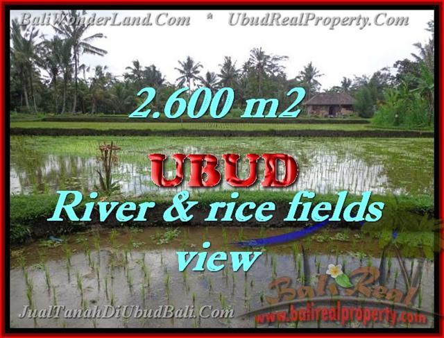 Land in Bali for sale, astounding view in Ubud Bali – TJUB421