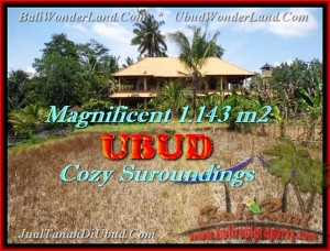 Beautiful PROPERTY LAND IN Sentral Ubud FOR SALE TJUB460